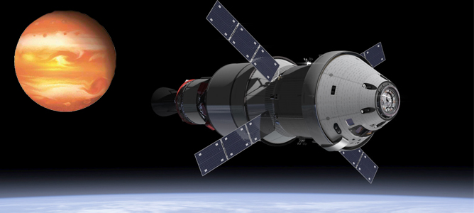 orion spacecraft may take humans to mars